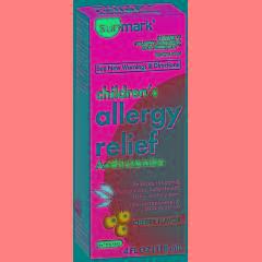 Sunmark Children's Allergy Relief Liquid Antihistamine