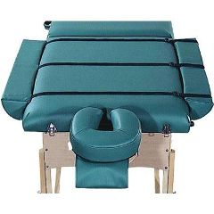"Custom Craftworks Massage Table Bolster Side Arms - Adds 8"" to Table Width"