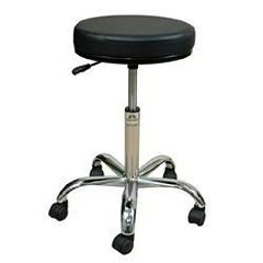 "Oakworks Professional Swivel Stool 21""-28""H"
