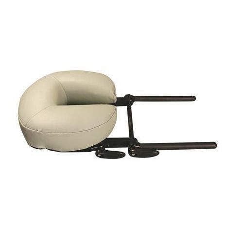 Oakworks Quick Lock Face Rest Black Base with Aerocel Crescent Cushion
