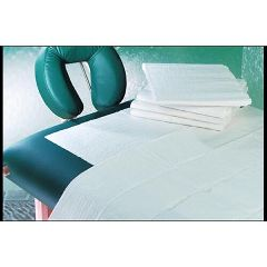 "Palmbay, Ltd Disposable Fitted Sheet White 76"" x 36"" x 6"""