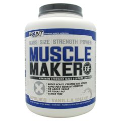 Giant Sports Products Muscle Maker - Vanilla Shake