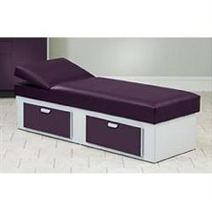 Clinton Industries Clinton Apron Couch With 2 Drawers & Adj Wedge