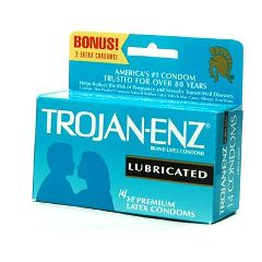 Trojan Condoms Trojan-Enz Condoms