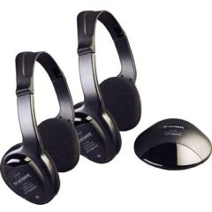 Harris Communications TV Listener Infrared Stereo System with Additional Headset