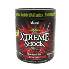Advance Nutrient Science Xtreme Shock N.O. - Shock Berry