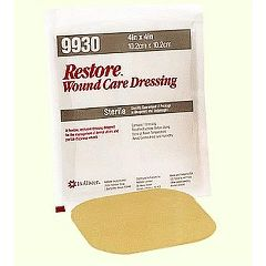 Restore Hydrocolloid Dressing with Foam Backing - 4 x 4""