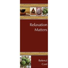 Relaxation Matters Marketing Cards