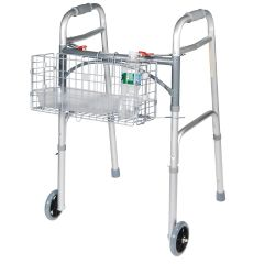 Folding Walker Basket with Liner