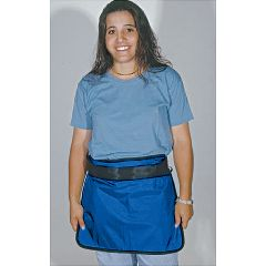 "AliMed Mini Aprons Medium., 16""W x 14""L, Blue"
