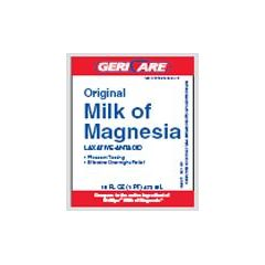 Geri-Care Pharmaceuticals Milk of Magnesia - 16 oz bottle