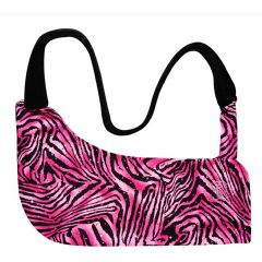 Sling Couture Pink Zebra – Universal Arm Sling