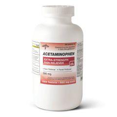 Medline Acetaminophen Extra Strength Tablets