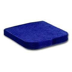 "Invacare Memory Foam 15 3/4"" x 15 3/4"" x 2"" Seat Cushion"