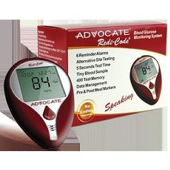 Pharma Supply Advocate Redi-Code Plus Blood Glucose Monitoring Systems