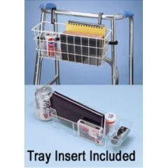 Ableware Deluxe Walker Basket - With Stabilizing Bars