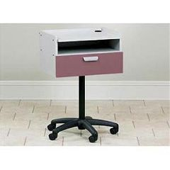 Clinton Industries Mobile Equipment Cart With Drawer & Shelf
