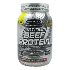 Essential Series Muscletech Essential Series 100% Platinum Beef Protein - Double Dutch Chocolate
