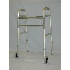 Sunmark Folding Walker with Wheels