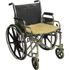 "Medical Sheepskin Wheelchair Seat Pad - 18"" x 16"""