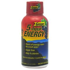 Living Essentials 5-hour Energy - Grape