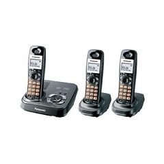 Panasonic DECT 6.0 Expandable Digital Cordless Phone with All-Digital Answering System
