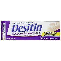 Desitin Ointment - Maximum Strength, 4 oz tube