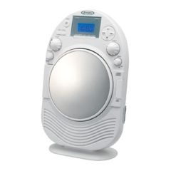Spectra Am/Fm Stereo Shower Radio/Cd With Mirror