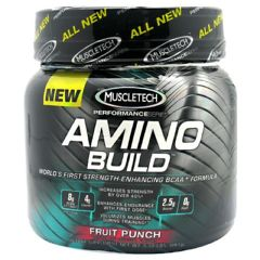 MuscleTech Amino Build - Fruit Punch
