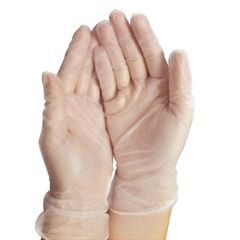 Cypress Powder Free Vinyl Exam Gloves - 100% Latex Free