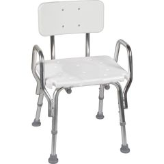 Mabis DMI Shower Chair with Backrest