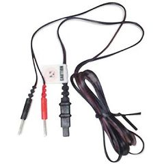 ScripHessco TENS Unit Lead Wires - Flat Pin Connector
