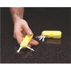 Fabrication Plastic 4-Key Holder