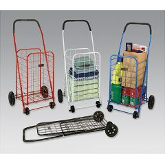 Mabis DMI Folding Shopping Cart Multi-Colored Kit