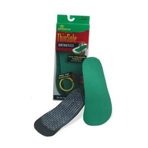 Spenco ThinSole Orthotics, 3/4 length Model 722 0041 03