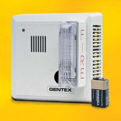 Gentex 7139 Hard Wired Wall Mount T3 Smoke Alarm with Backup