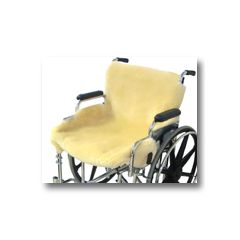 Medical Sheepskin Wheelchair Seat Cover - 100% Genuine Sheepskin