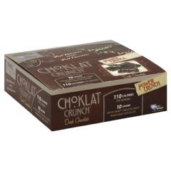 BNRG Choklat Crunch Protein Crisps - Dark Chocolate
