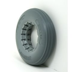 "Urethane Rib Caster Tire 8"" x 2"" Fits Most 2-Piece Wheels"