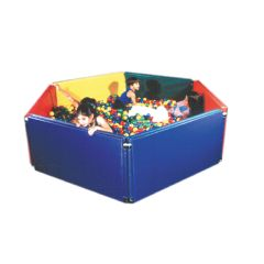"Fabrication Sensory Ball Environment Pit - Additional Panel Only Blue, 48""X24""X3"""