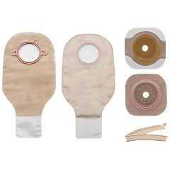 New Image 2-Piece Ostomy Bag Drain Kit Up To 2-1/4""