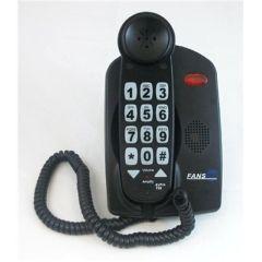 Fans-Tel Ezpro T56 56Db Amplified Phone - Black