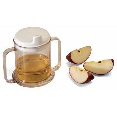 Sammons Preston Transparent Mug with Two Handles - Replacement Lid Only