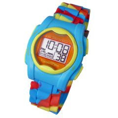 Global Assistive Devices Global VibraLITE MINI Vibrating Watch with Multicolor Silicone Band