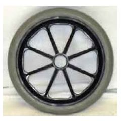 New Solutions 8 x 1 Caster Wheel