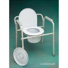 North Coast Medical All in One Commode, Shower, Raised Bath Seat.