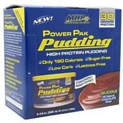 MHP Power Pak Pudding - Chocolate