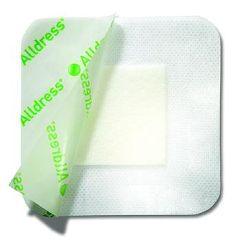 "Alldress Absorbent Film Dressing - 4 x 4"""