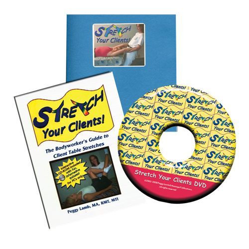 Massage Publications Stretch Your Clients At Home Study Course Model 569 0098