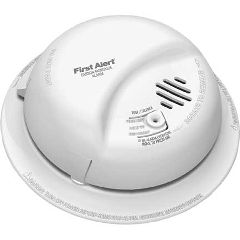 Harris Communications Carbon Monoxide Detector with Battery Backup